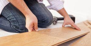 Leggen van een compleet nieuwe vloer